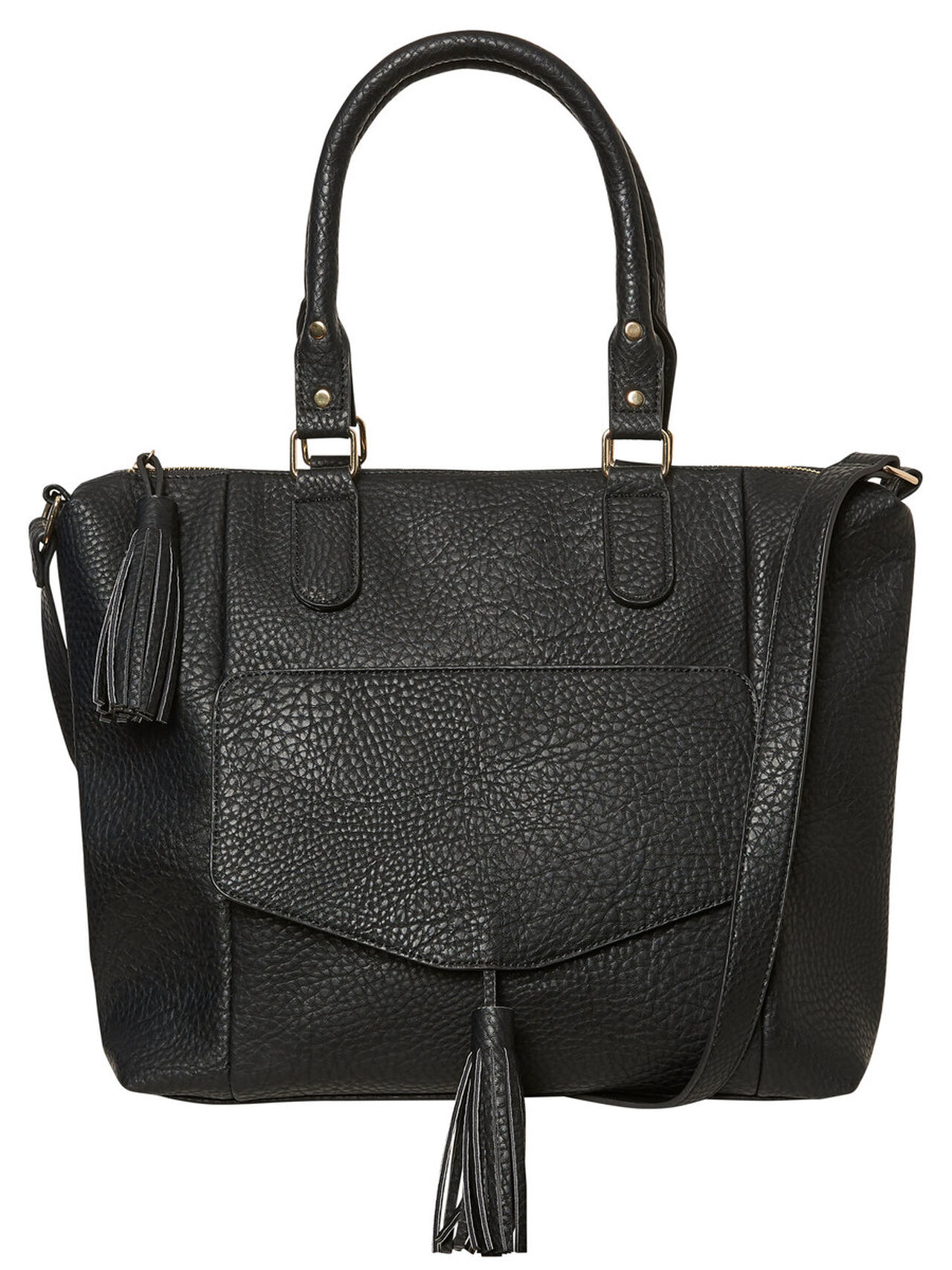 VERO MODA Large Feminine Weekend Bag Women Black