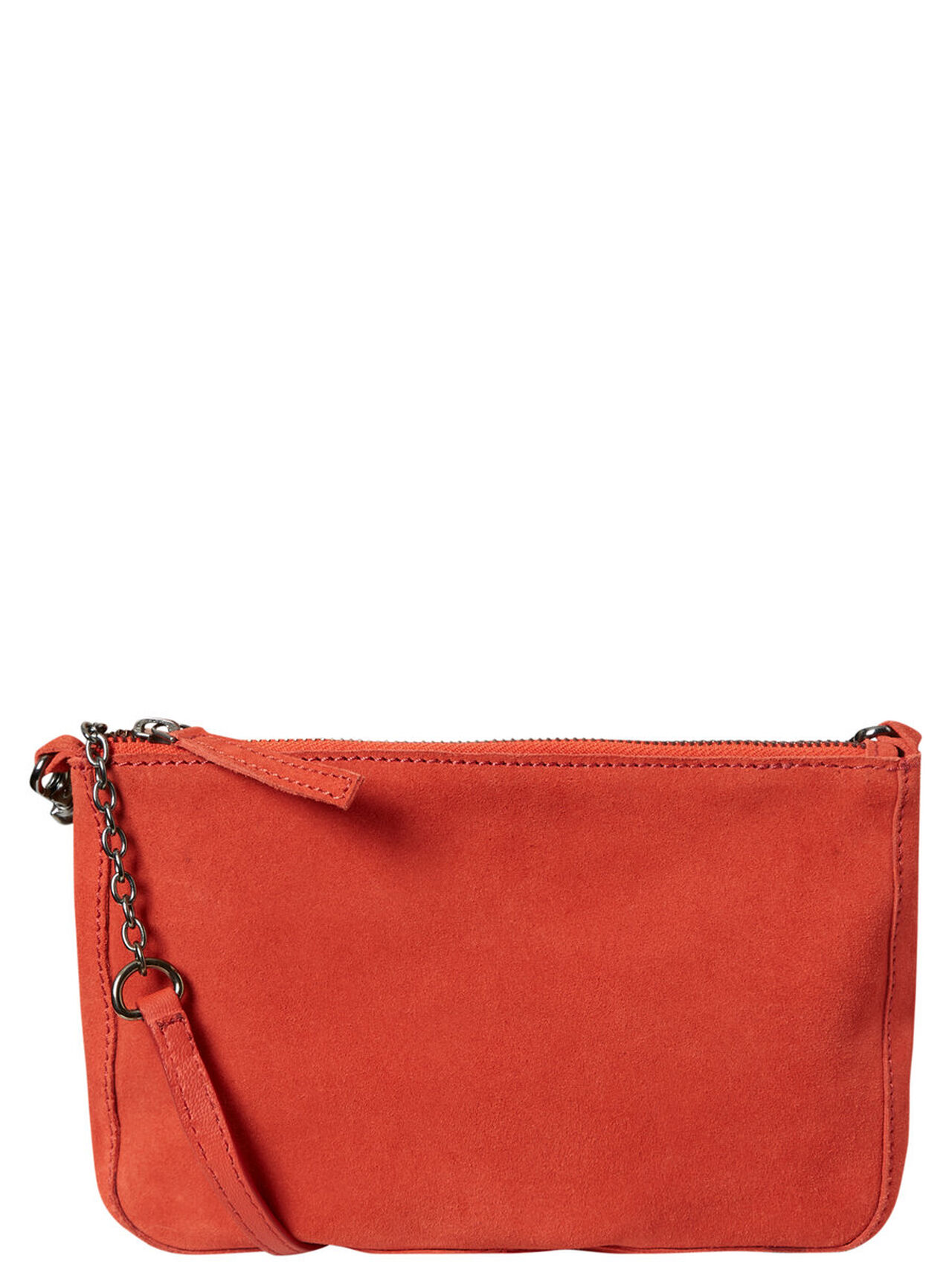 VERO MODA Small Suede Crossbody Bag Women Red